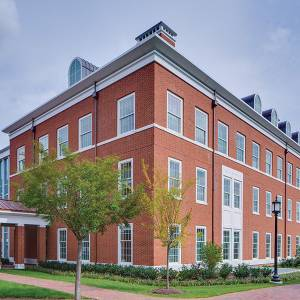 Malone Hall on JHU's Homewood campus