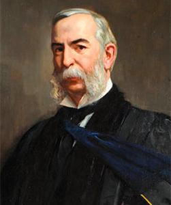 Portrait of Daniel Coit Gilman, JHU's first president