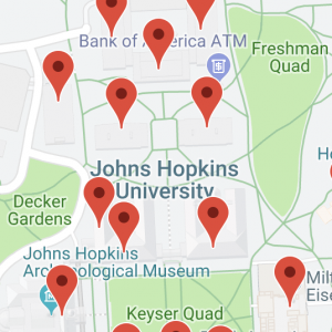 Maps & Directions | Johns Hopkins University Hopkins Campus Map on hopkins organizational chart, johns hopkins map, hopkins state map, hopkins library hours, hopkins hospital map, jhu map, er hopkins map, hopkins university, jhh map,